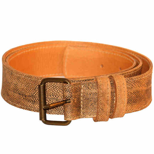 Belt, Burbot leather, 38 mm / 120 cm