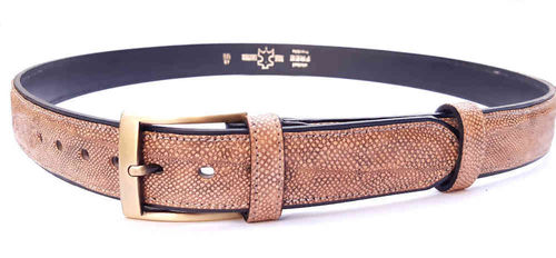 Belt, Burbot leather, 32 mm